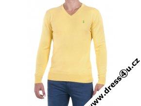 Ralph Lauren pánský svetr žlutý