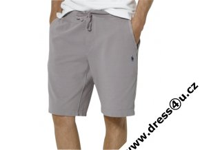 Ralph Lauren pánské šortky Playa Fleece šedé