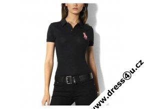 Ralph Lauren dámské polo triko černé