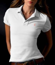 Ralph Lauren dámské polo triko bílé velikost: M