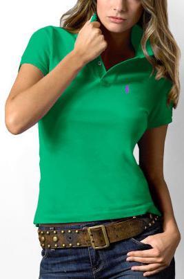 Ralph Lauren dámské polo triko zelené classic velikost: S