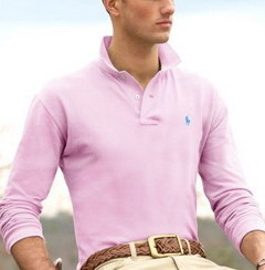 Ralph Lauren pánské polo triko sv.růžové velikost: M