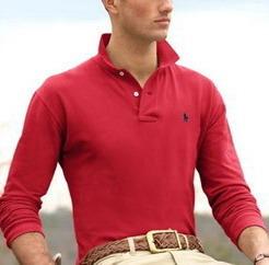 Ralph Lauren pánské polo triko červené velikost: XL