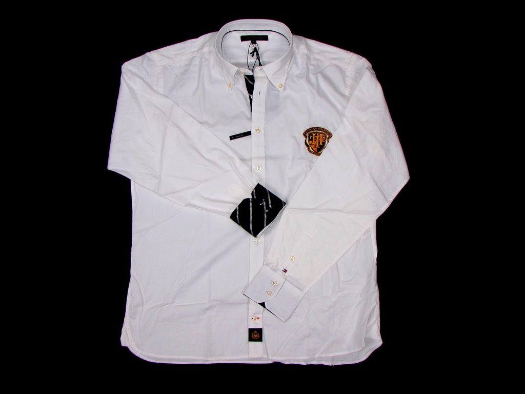 Tommy Hilfiger pánská košile bílá velikost: M