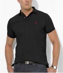 Ralph Lauren pánské polo triko černé velikost: M