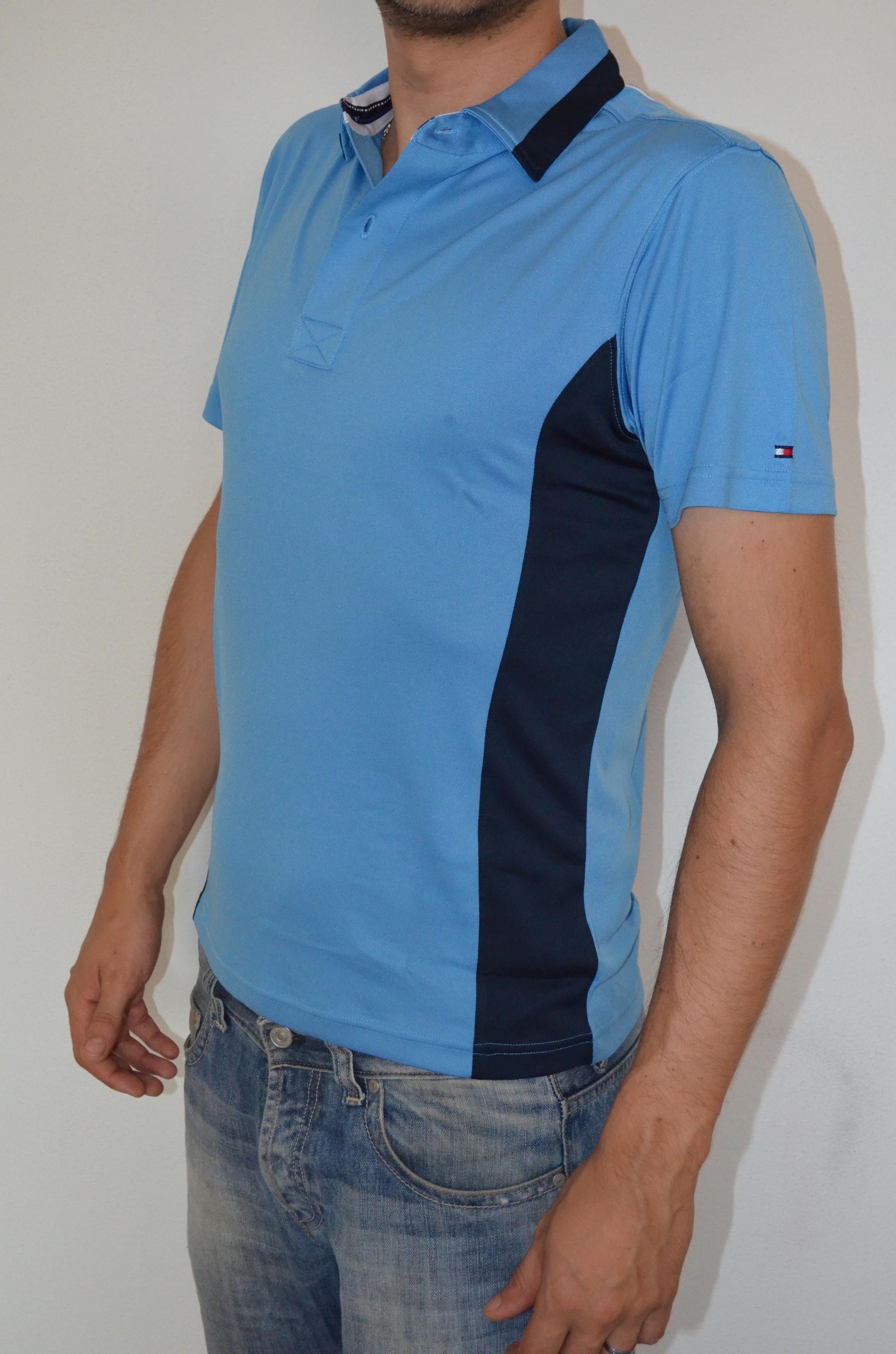 Tommy Hilfiger pánské golf polo triko modré velikost: XS