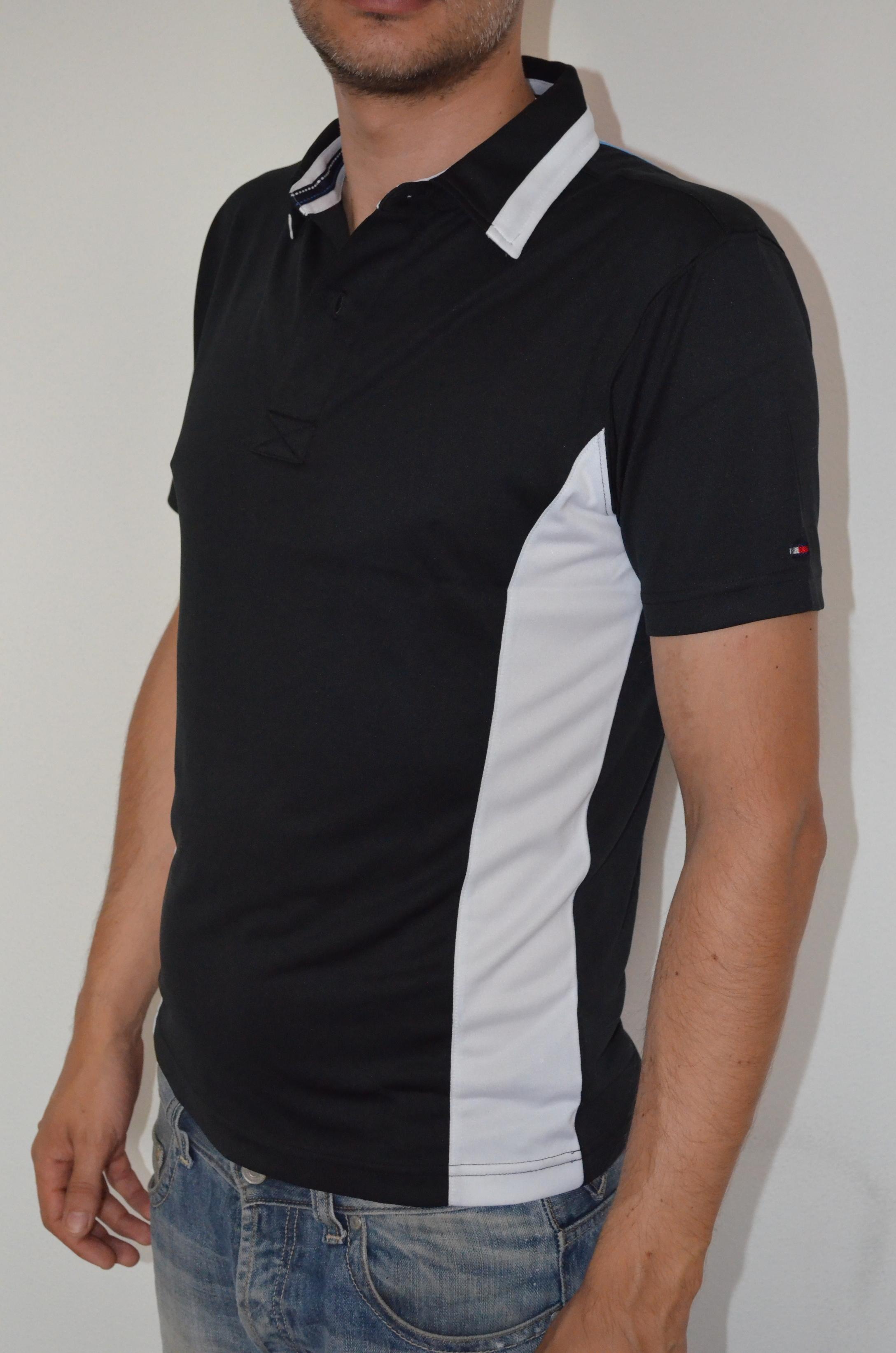 Tommy Hilfiger pánské golf polo triko černé velikost: XS