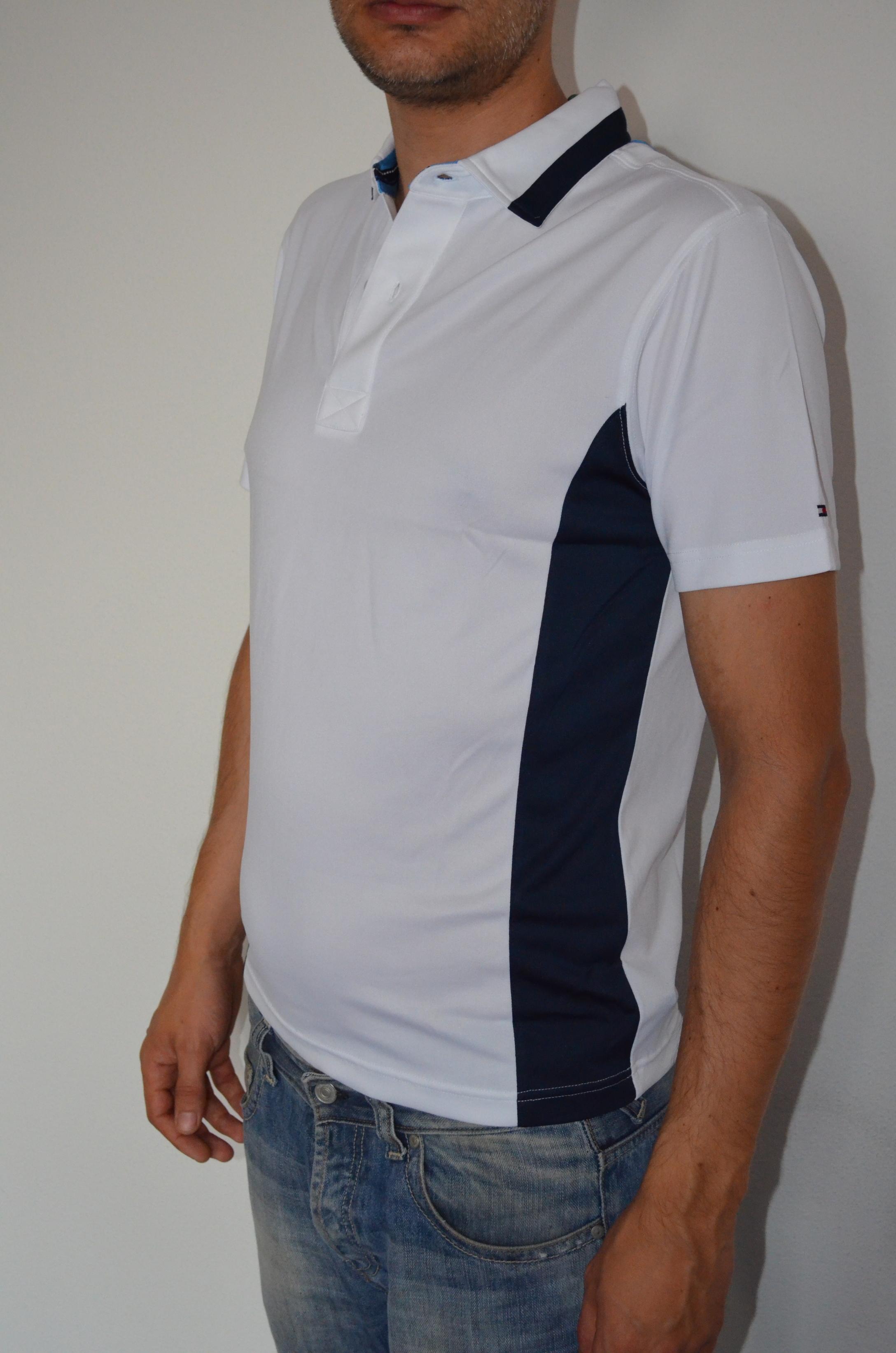 Tommy Hilfiger pánské golf polo triko bílé velikost: XS
