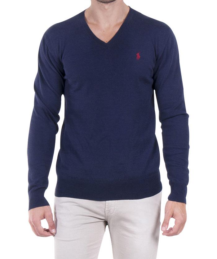 Ralph Lauren pánský svetr tm.modrý velikost: M