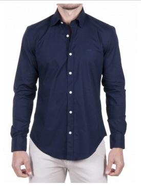 Hugo Boss pánská košile tm.modrá velikost: M