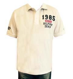 Tommy Hilfiger pánské polo triko bílé velikost: M