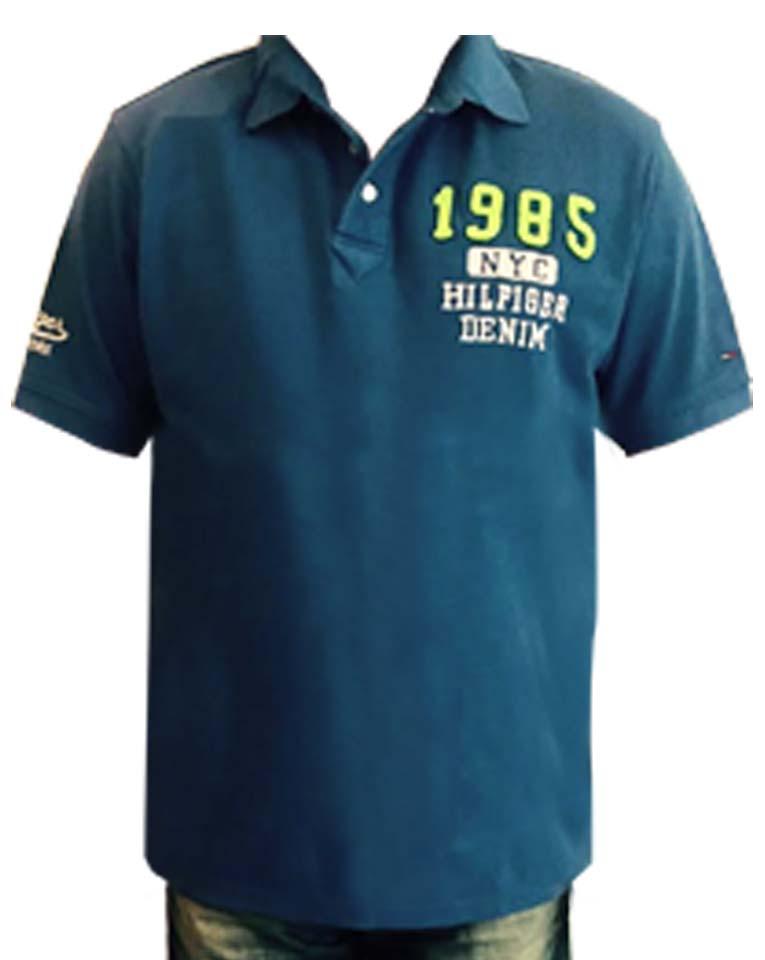 Tommy Hilfiger pánské polo triko modrá velikost: M