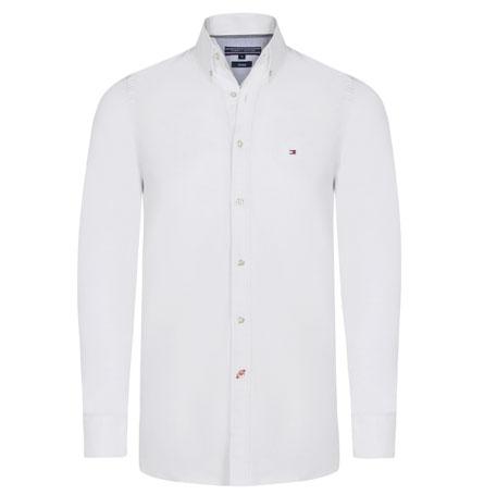 Tommy Hilfiger pánská košile bílá velikost: L