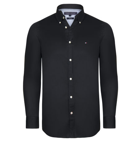 Tommy Hilfiger pánská košile černá velikost: M