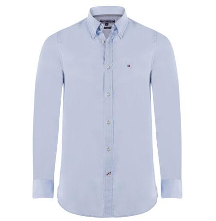 Tommy Hilfiger pánská košile sv. modrá velikost: M