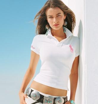Ralph Lauren dámské polo triko bílé velikost: L