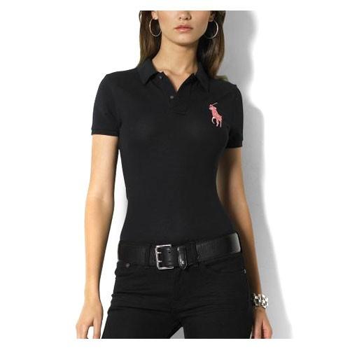 Ralph Lauren dámské polo triko černé velikost: L