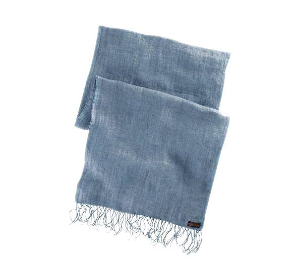 Pánská šála Ralph Lauren modrá