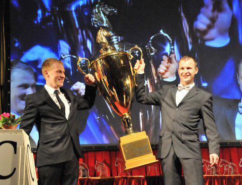 Fabrizio vyhrál PAVO Pohár Jezdectví 2012 a další žebříčky sezony 2012
