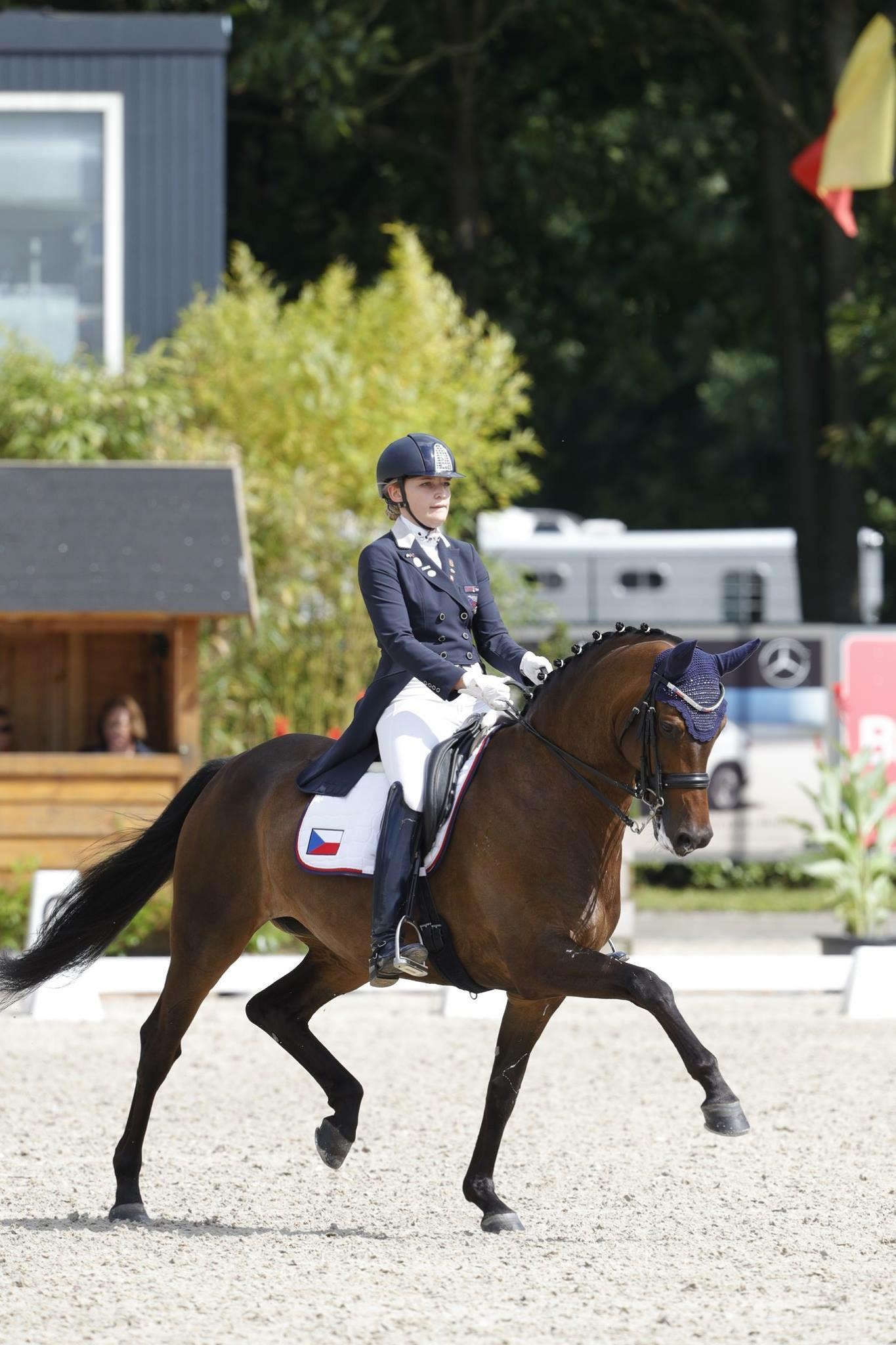 Aneta a Fieneke na juniorském Mistrovství Evropy v Roosendaalu (NED)
