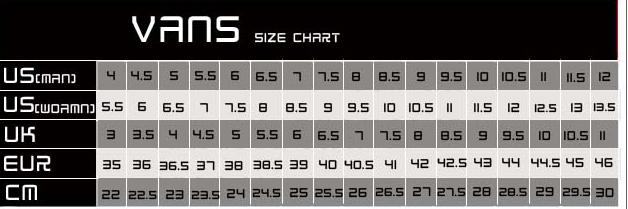 vans-size-chart
