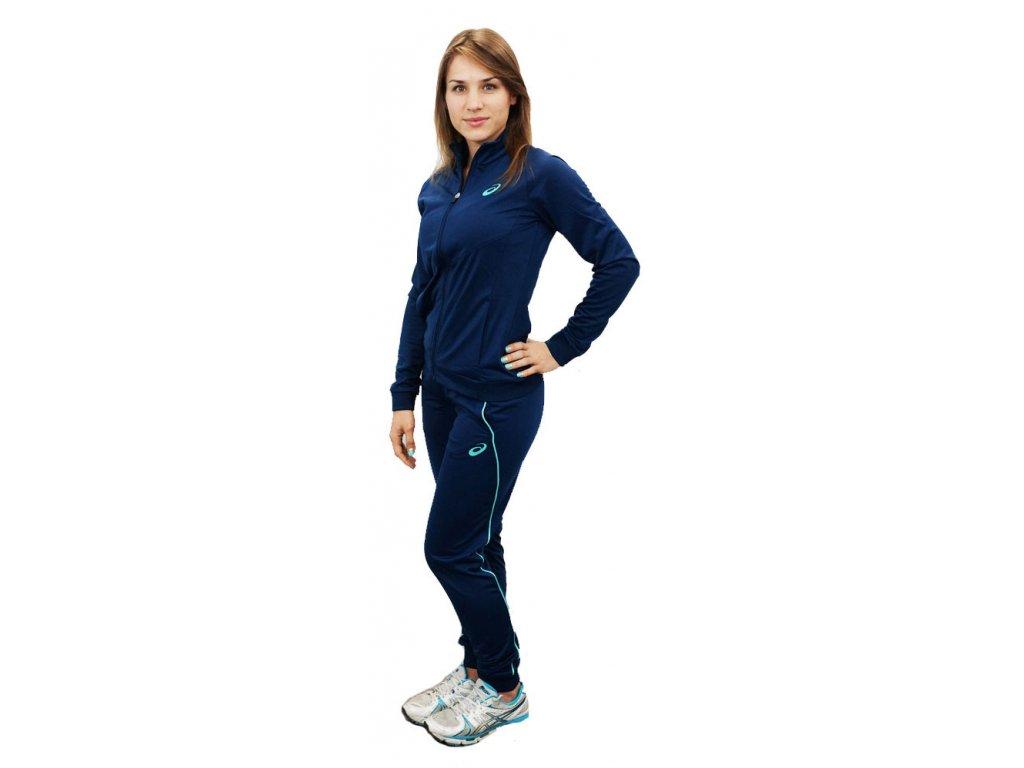 Ascs Women Tracksuit Polywarp Indigo Blue1
