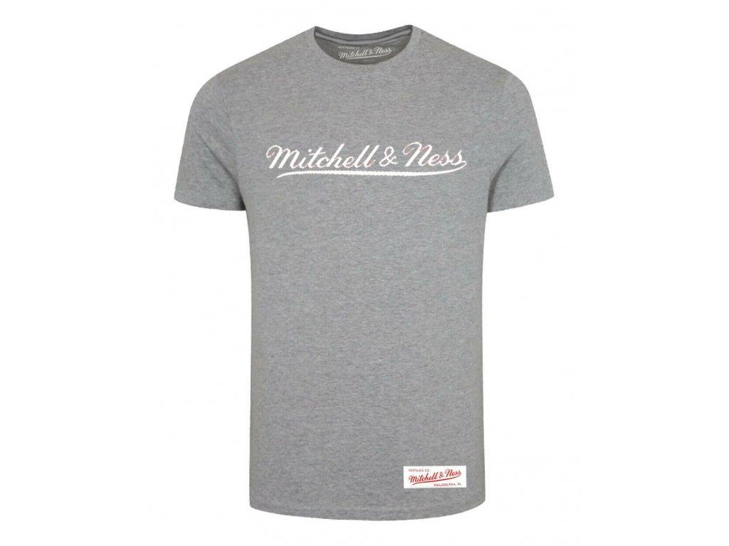 Mitchell & Ness Tailored Tee Grey