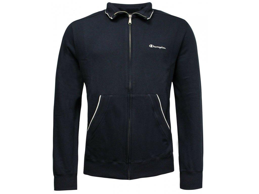 Champion Athletic Jumper Jacket Navy