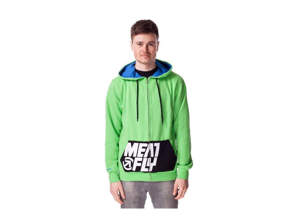MEATFLY MTX B-Green flash (Velikost S)