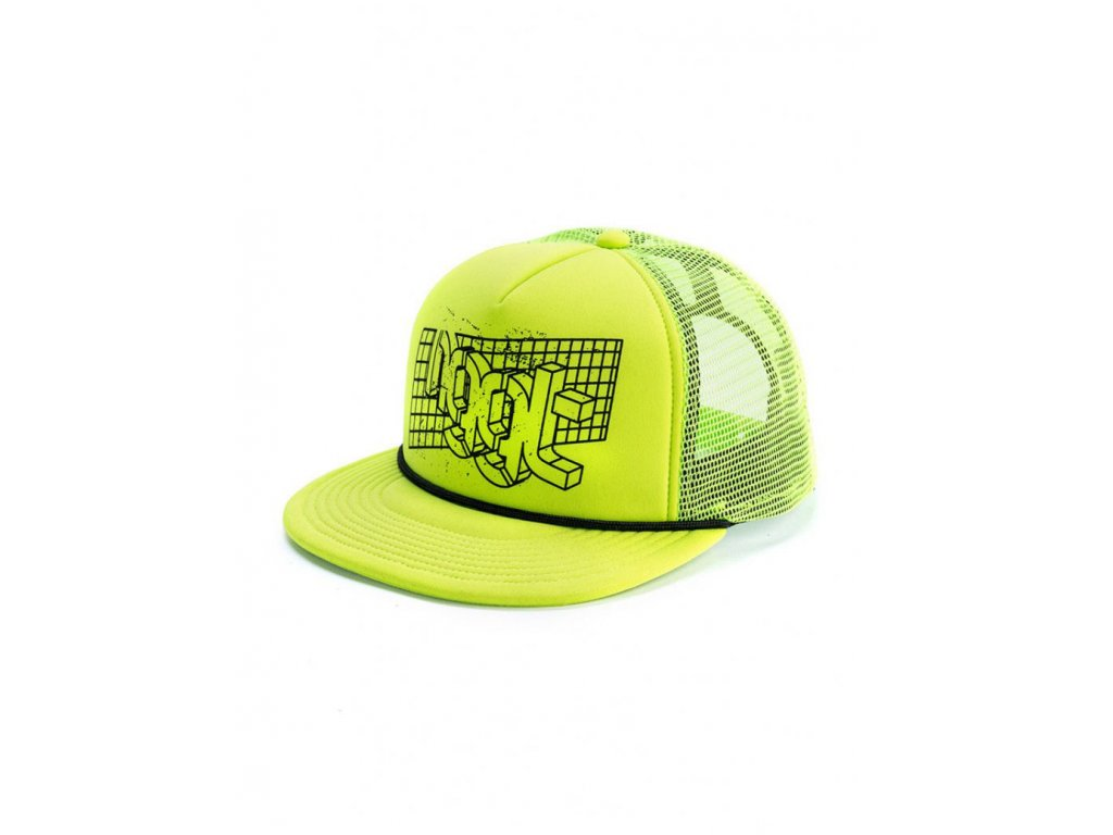 NUGGET GRID TRUCKER A SAFETY YELLOW