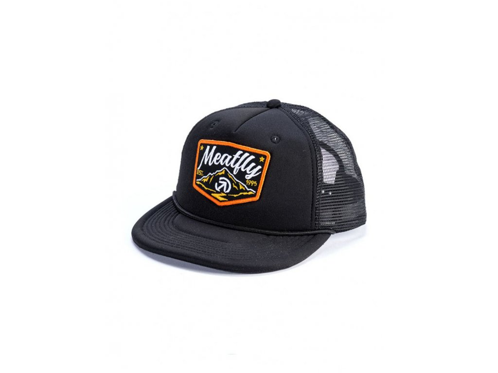 MEATFLY CLANCY TRUCKER A BLACK