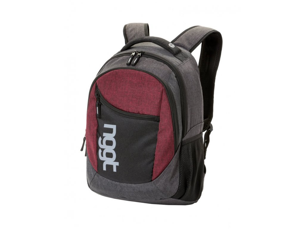 NUGGET RAPID 2 BACKPACK A HEATHER GREY, HEATHER RED