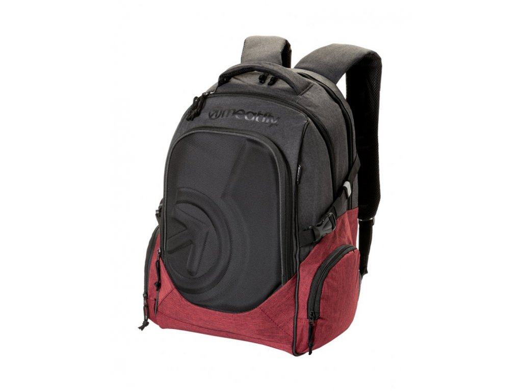 MEATFLY BLACKBIRD 2 BACKPACK B BURGUNDY, BLACK