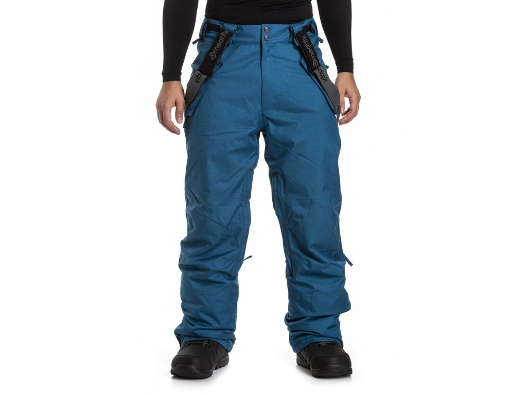 MEATFLY GNAR 3 PANTS B PETROL HEATHER