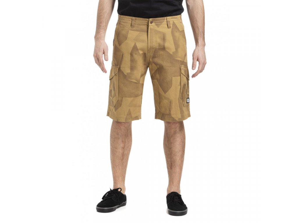 MEATFLY ICON 19 SHORTS D SAND SHADE MONO