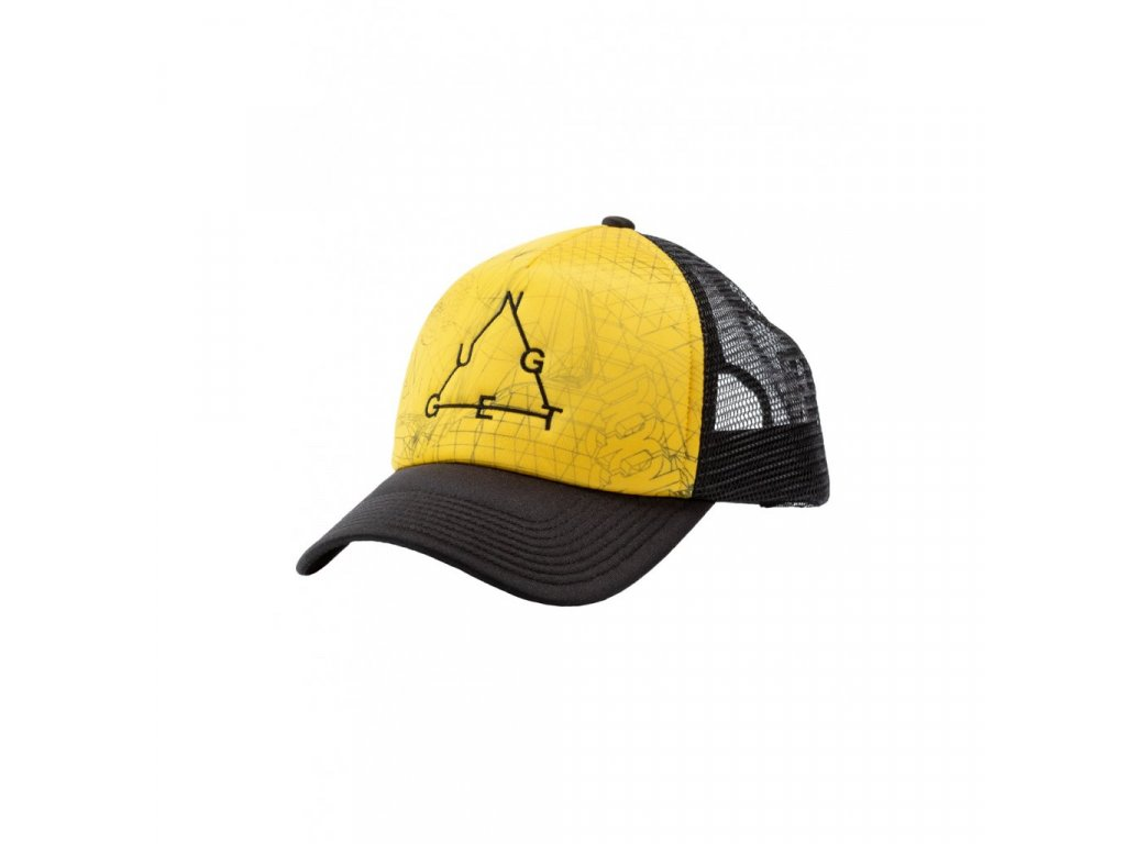Kšiltovka Nugget Shell 2 Trucker B Grid Yellow, Black