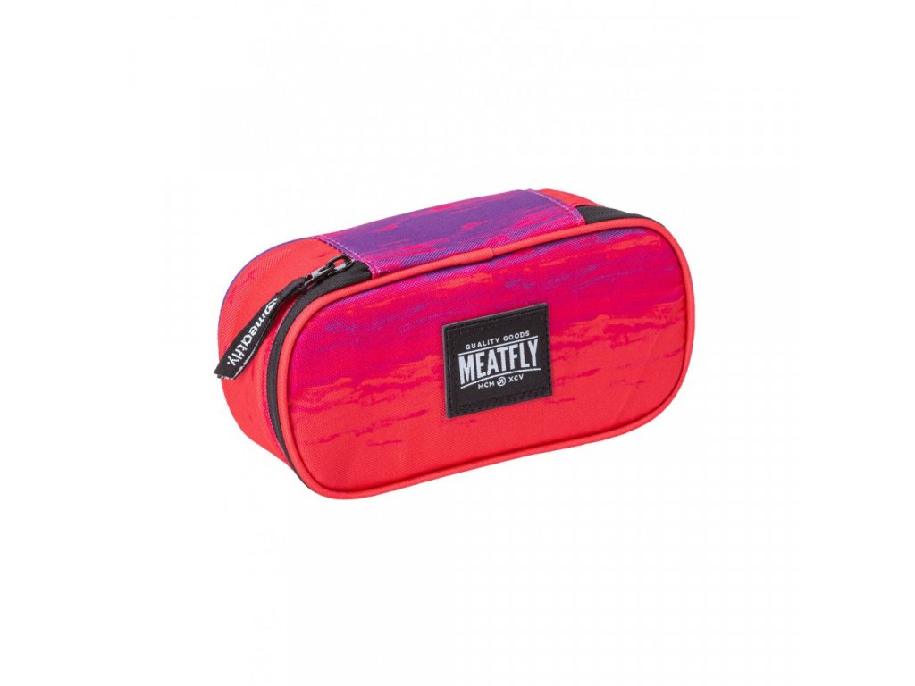 Pouzdro MEATFLY Pencil Case 2 F Ambient Pink