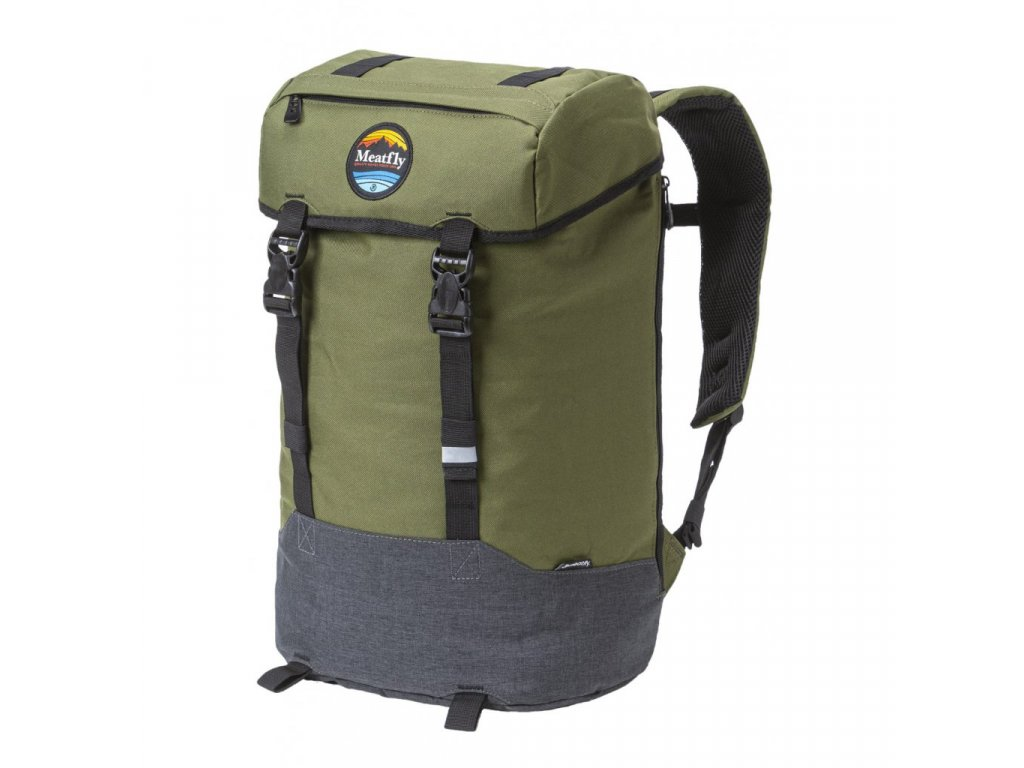 Batoh MEATFLY Pioneer 4 A Vivid Olive, Heather Charcoal