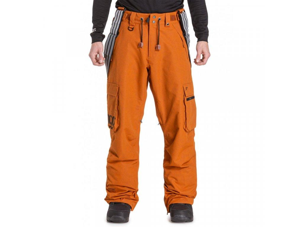 Snowboardové kalhoty Nugget Dustoff 5 G Rust Ripstop