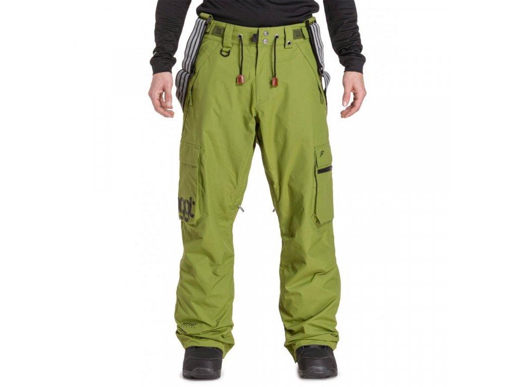 Snowboardové kalhoty Nugget Dustoff 5 C Green Calla