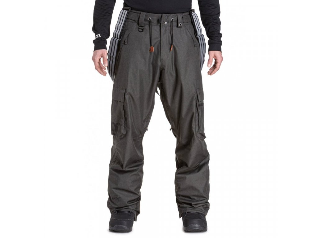 Snowboardové kalhoty Nugget Dustoff 5 B Gunmetal Heather