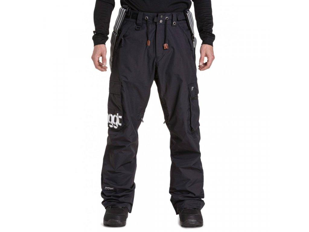 Snowboardové kalhoty Nugget Dustoff 5 A Black