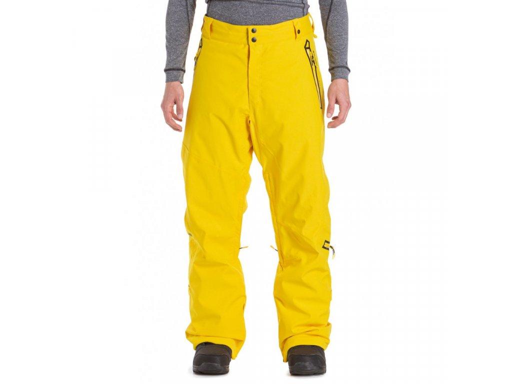 Snowboardové kalhoty Meatfly Lord 4 D Cyber Yellow