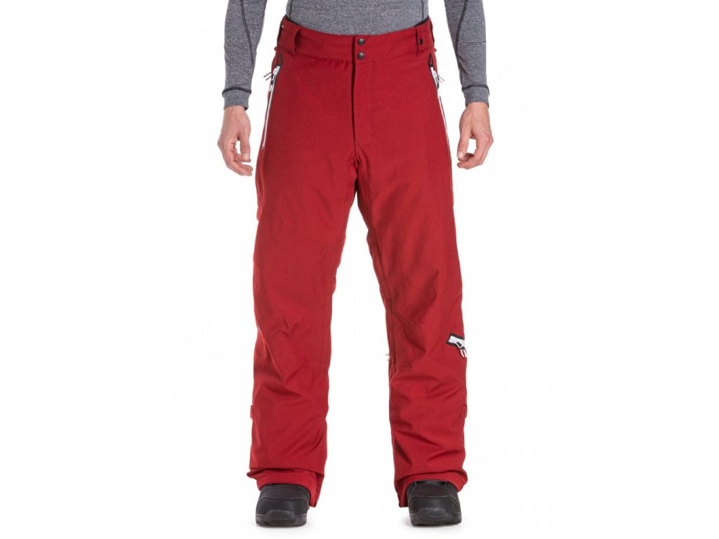 Snowboardové kalhoty Meatfly Lord 4 B Deep Red