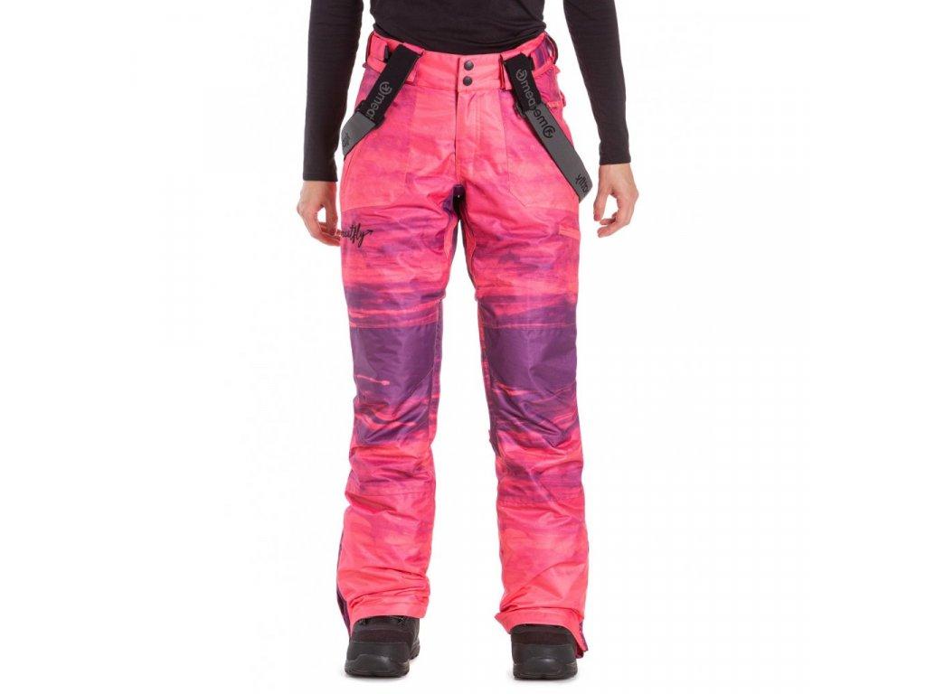 Snowboardové kalhoty Meatfly Foxy K Ambient Pink