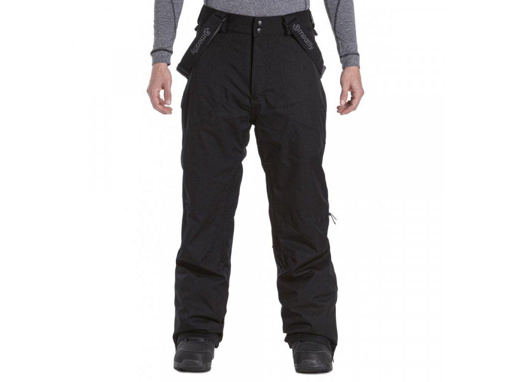 Snowboardové kalhoty Meatfly Gnar 4 A Black