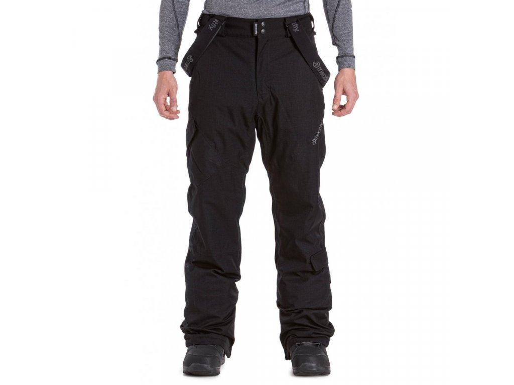 Snowboardové kalhoty Meatfly Ghost 4 A Black