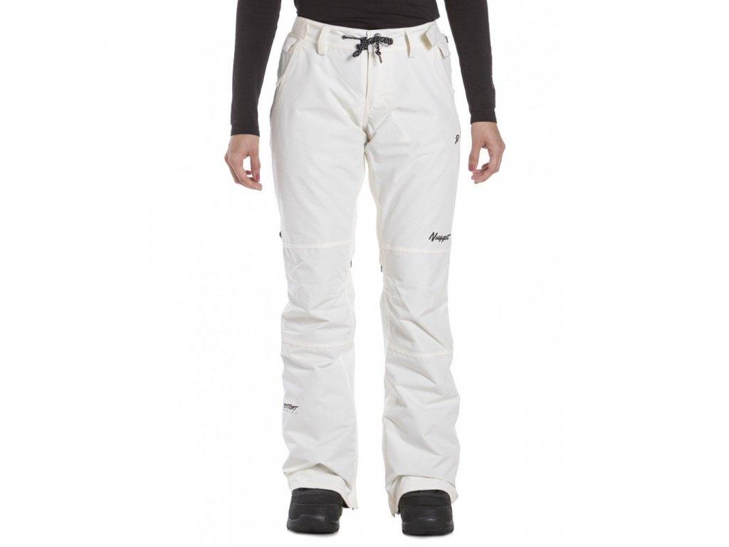 Snowboardové kalhoty Nugget Kalo L Linen White