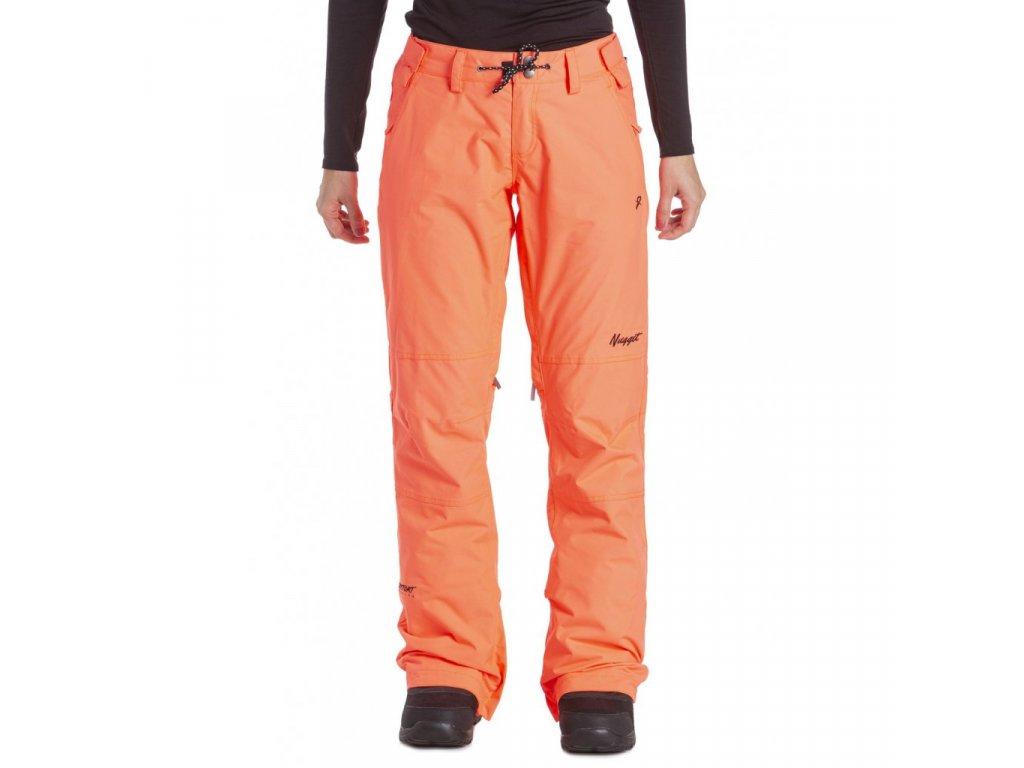 Snowboardové kalhoty Nugget Kalo E Acid Orange