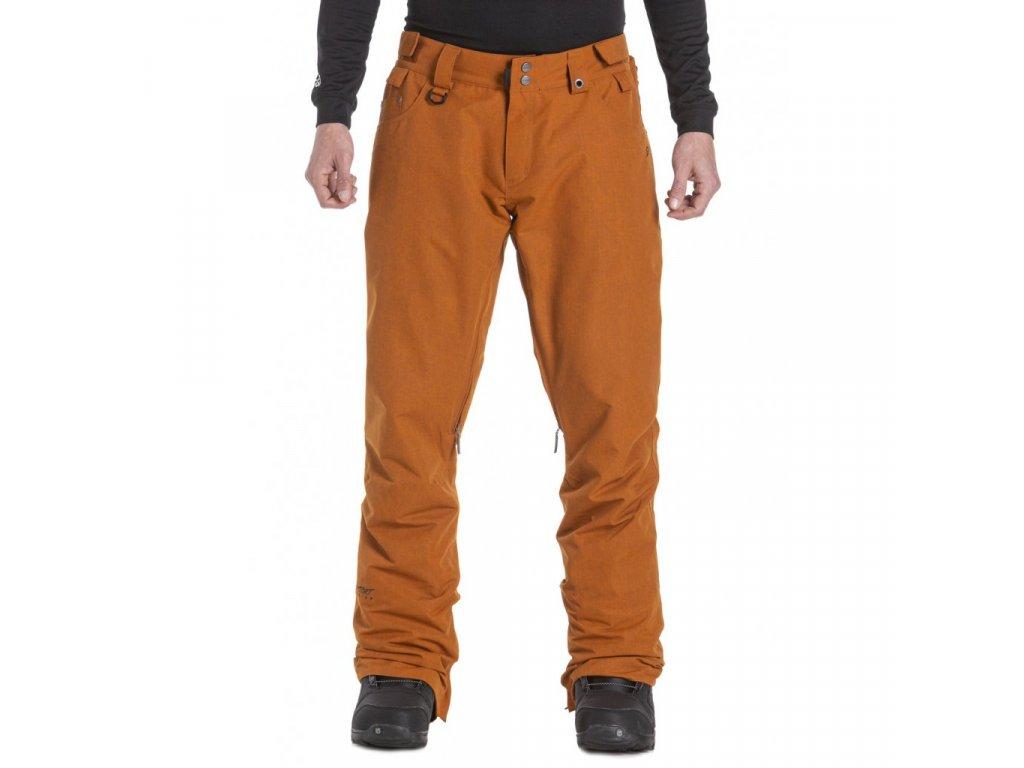 Pánské snowboardové kalhoty Nugget Charge 5 D Rust Ripstop